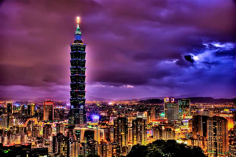 Image result for tháp taipei 101