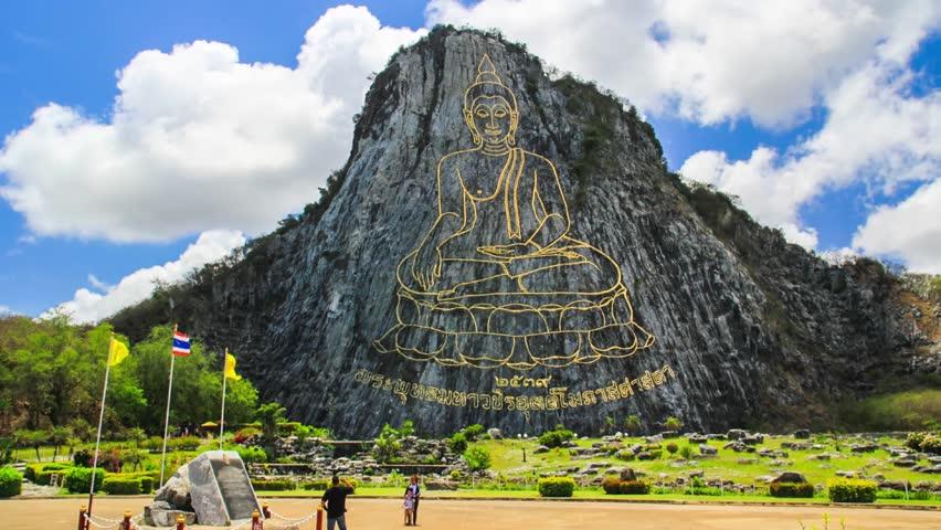 Kết quả hình ảnh cho Núi Phật Vàng (Khao Chee Chan)